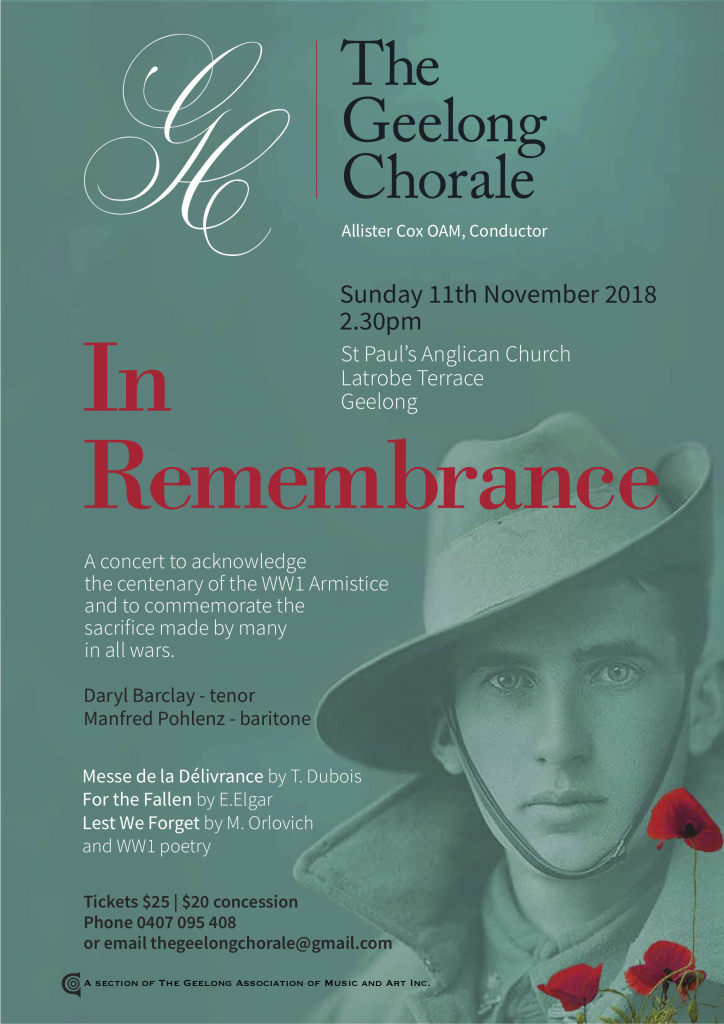 TGC In Remebrance Poster