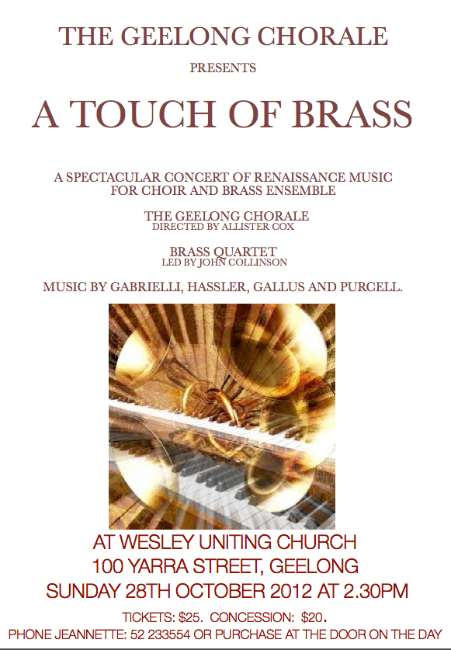 Touch of Brass